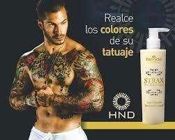 Strax Realza El Color de Tus Tatuajes