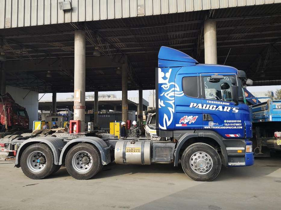 Camión Tracto Remolcador G410 6x4 2012