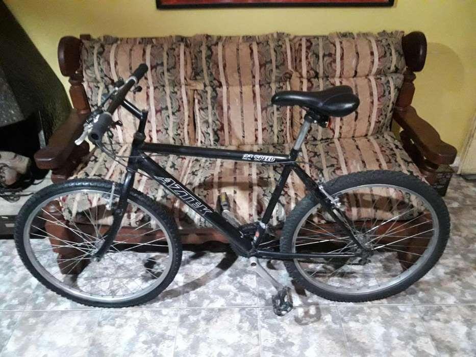 Bicicleta Mountain Bike 21 cambios shimano