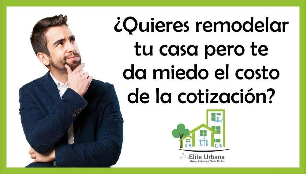 Remodela tu casa, cotizaciones gratis