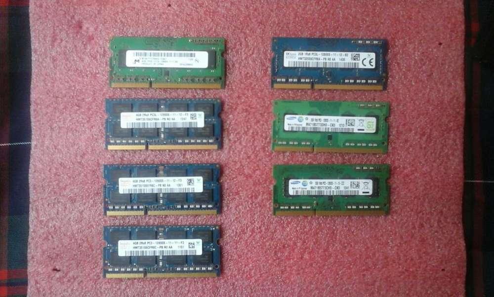 Memoria Ram Ddr3l de 4gb para Portátil