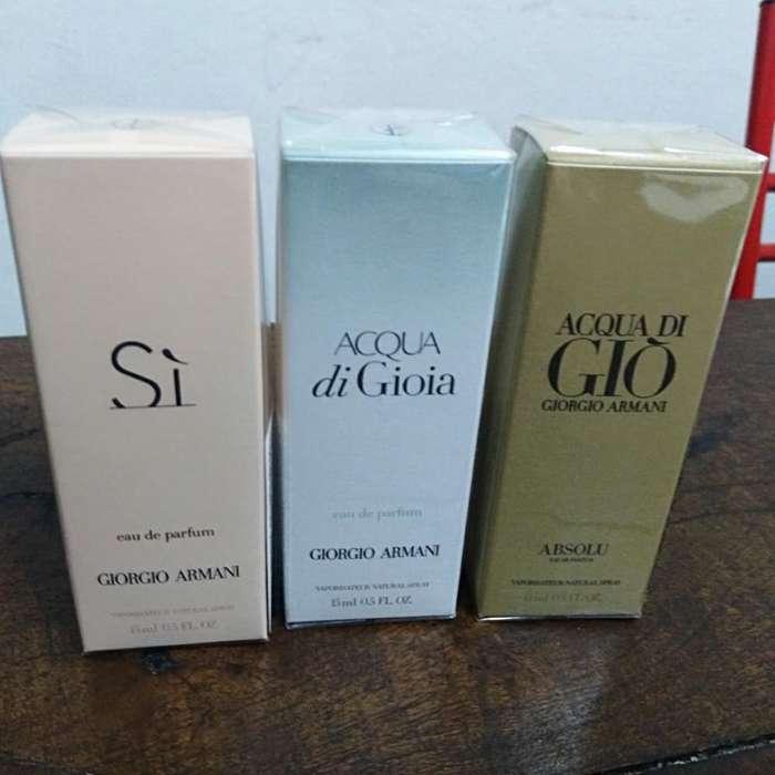 Perfumes Giorgio Armani 15ml