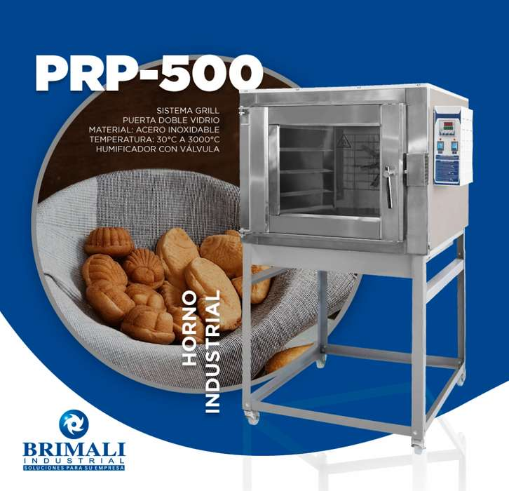 HORNO TURBO A GAS - BRIMALI INDUSTRIAL