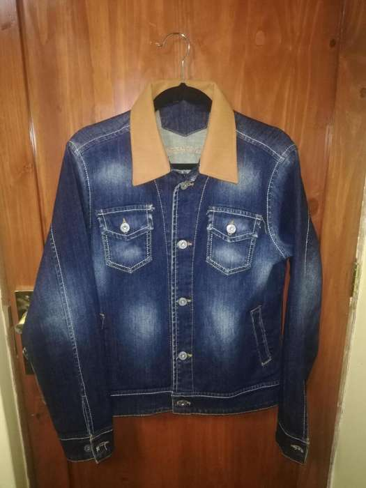 Casaca Jean Azul - Denim Jacket blue