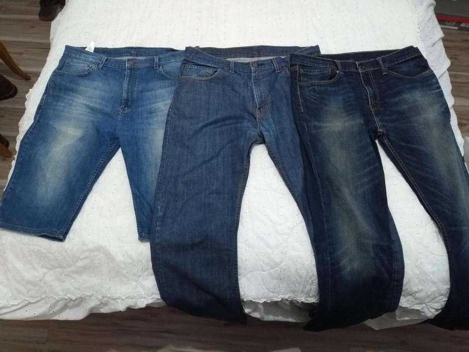Tres Pantalones Jeans Levi's Originales