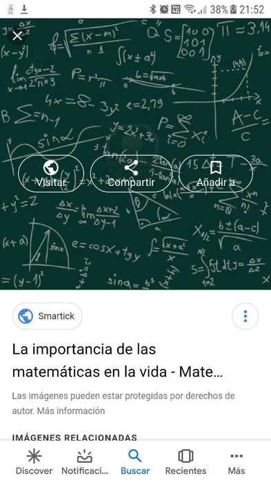 Clases de Matematicas Y Contabilidad