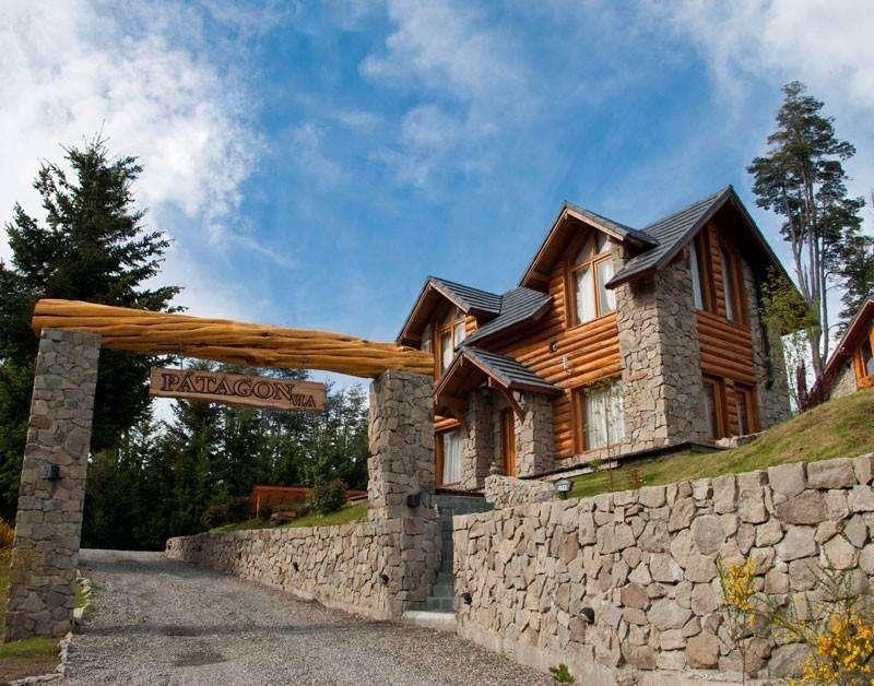 wp29 - Cabaña para 2 a 6 personas con pileta y cochera en Villa La Angostura