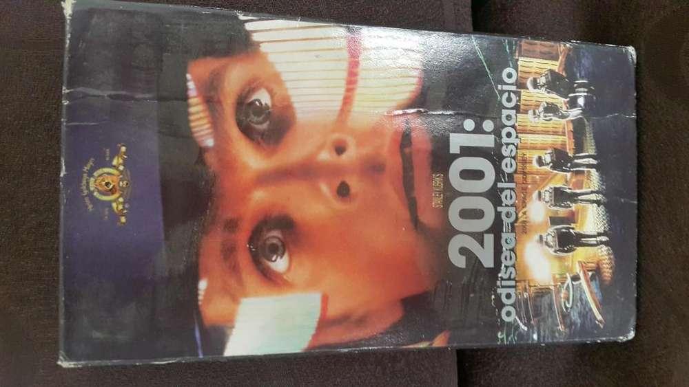 Película 2001 Odisea al espacio en VHS