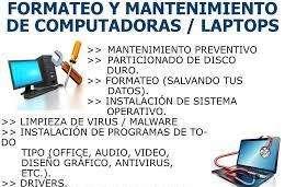 SERVICIO TÉCNICO DE COMPUTADORES, IMPRESORAS.
