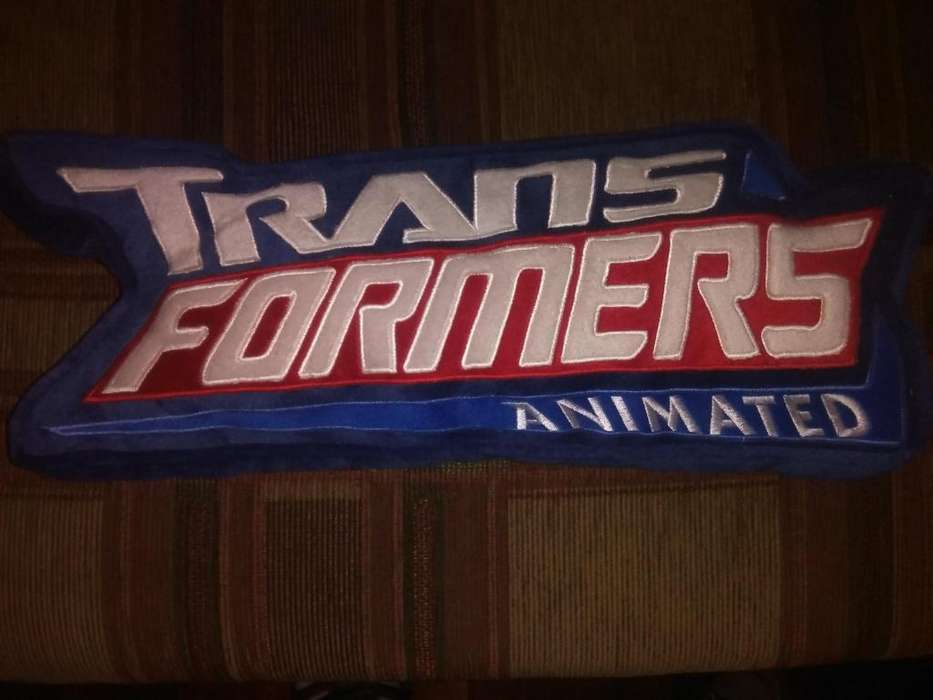 Transformers Anime Almohada Original