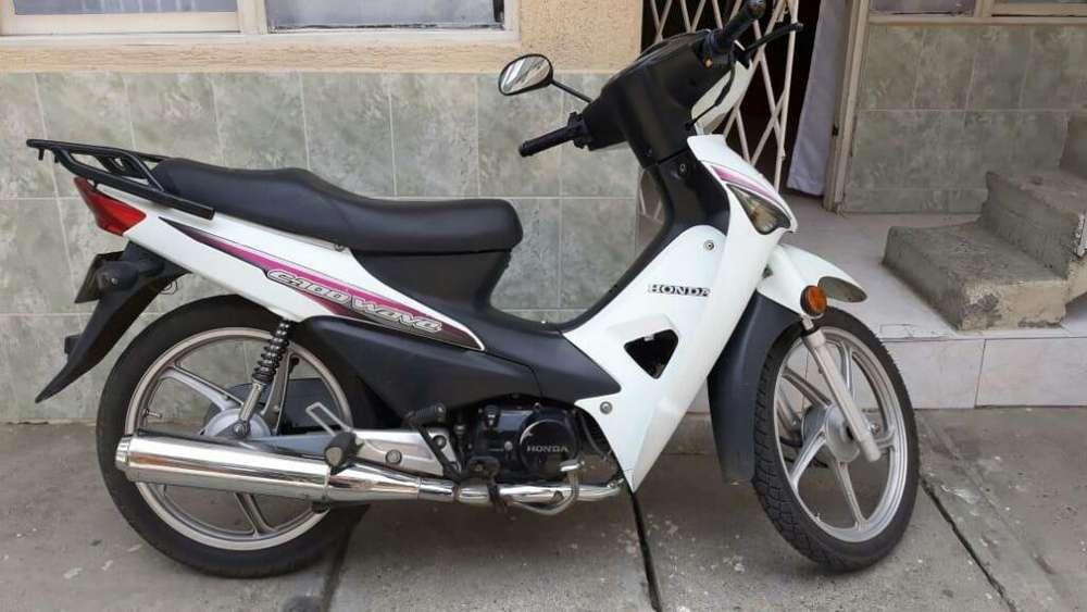 Vendo Moto Honda C-100 Wave Color Blanco