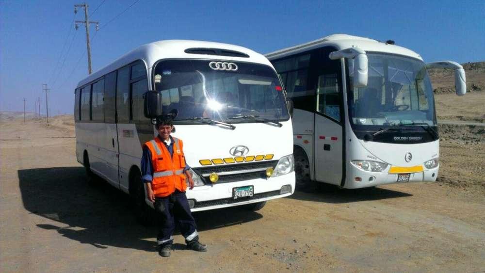 ALQUILER DE <strong>camioneta</strong>S Y CUSTER , TRANSPORTE DE PERSONAL