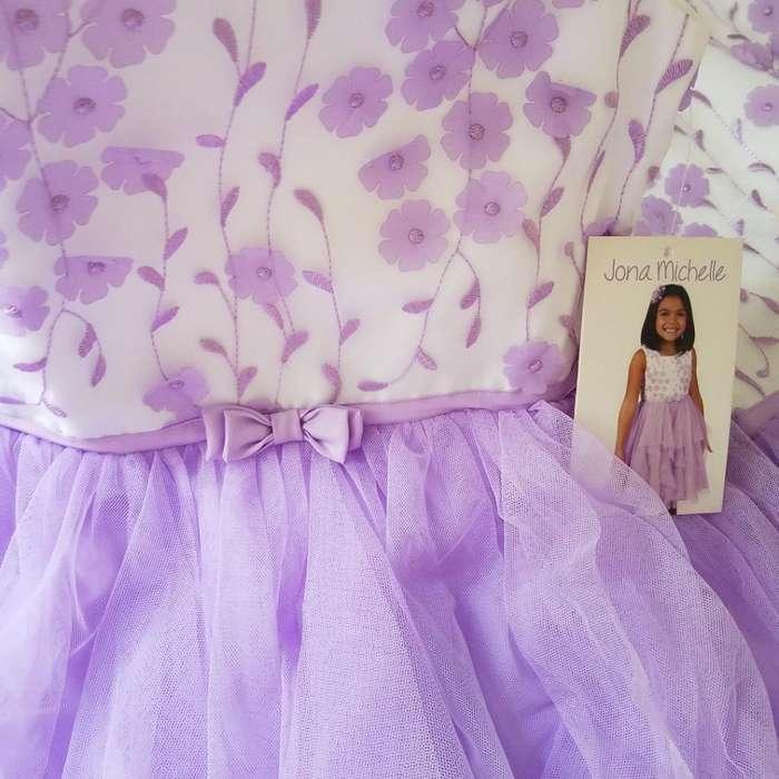 Vestido Elegante Para Niña Talla 12 Marca Americana Jona Michelle