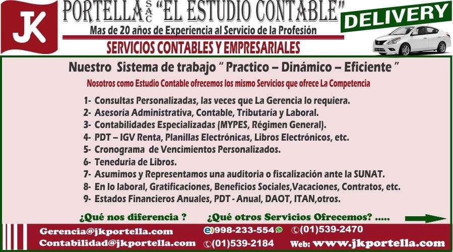 Estudio Contable Jk Portella SAC