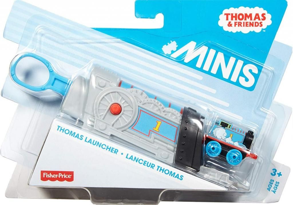 Thomas & Friends Minis. Lanzador Thomas, Percy y James