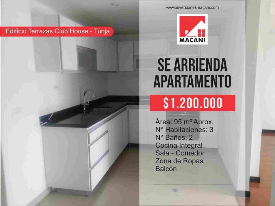 Se Arrienda <strong>apartamento</strong> Edificio Terrazas Club House