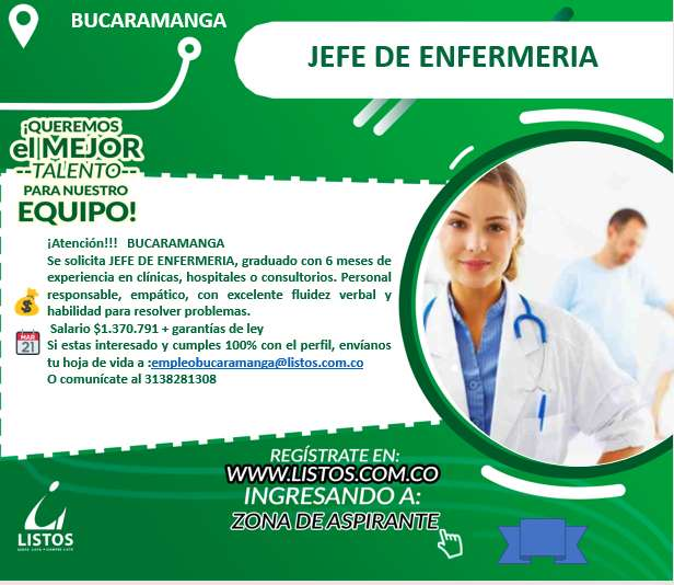 Jefe de enfermeria
