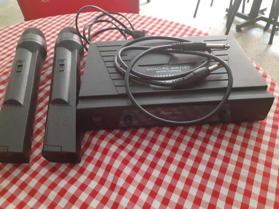 Set de Microfonos Inalambricos