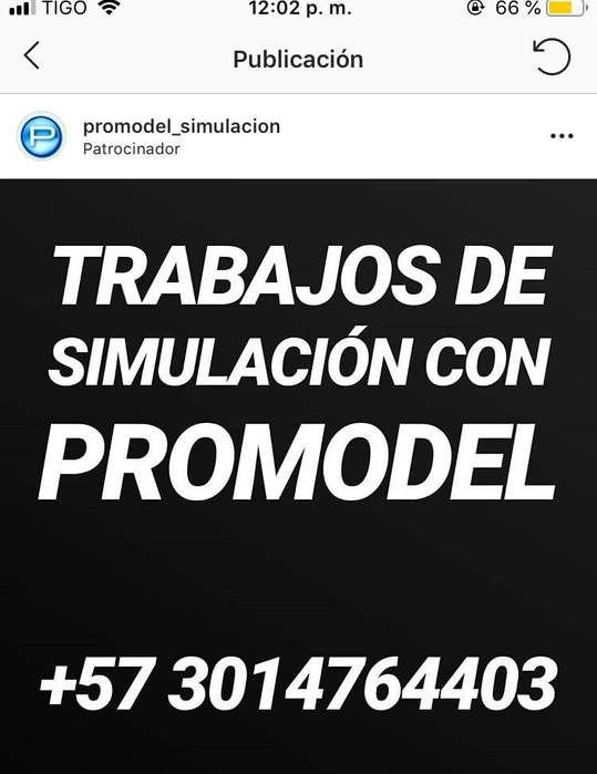 Trabajos de Simulacion Promodel
