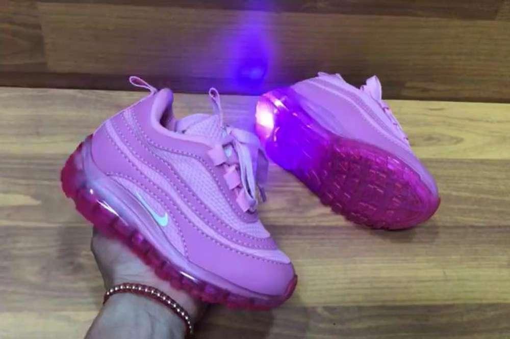 Zapato Tennis Deportivo Nike Luces Niños