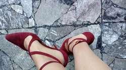 Stilettos de Gamuza con Pulsera