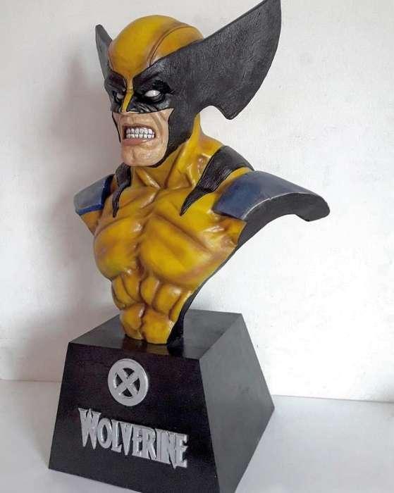 Wolverine Escultura
