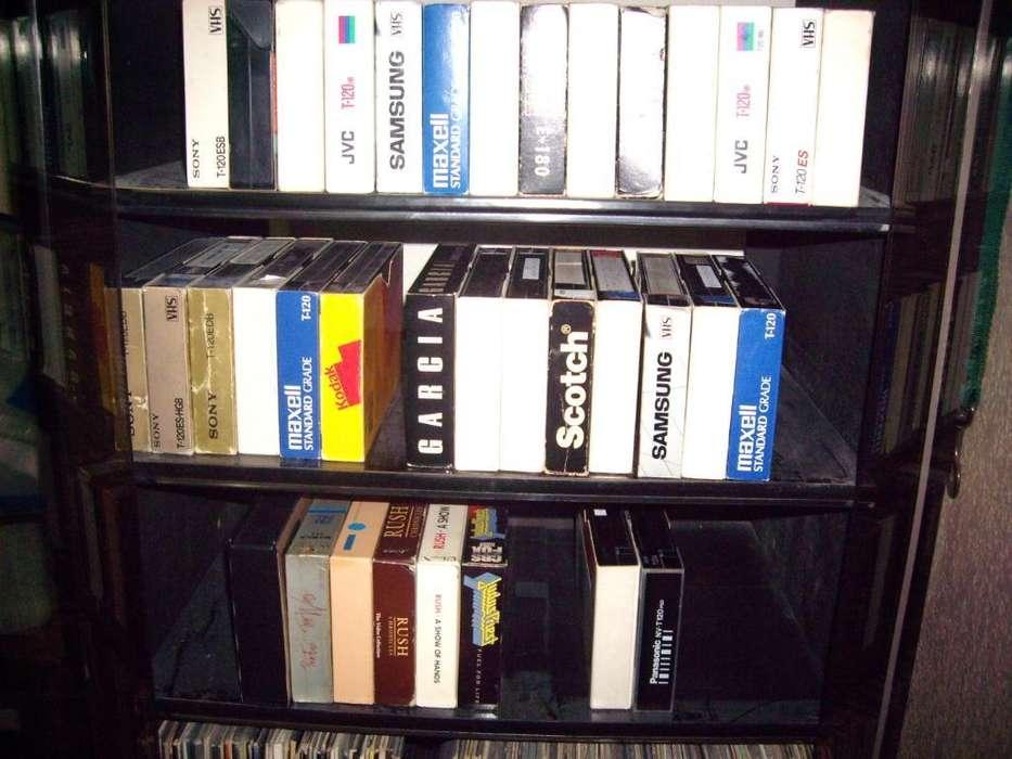 27 Videocassetes Vhs