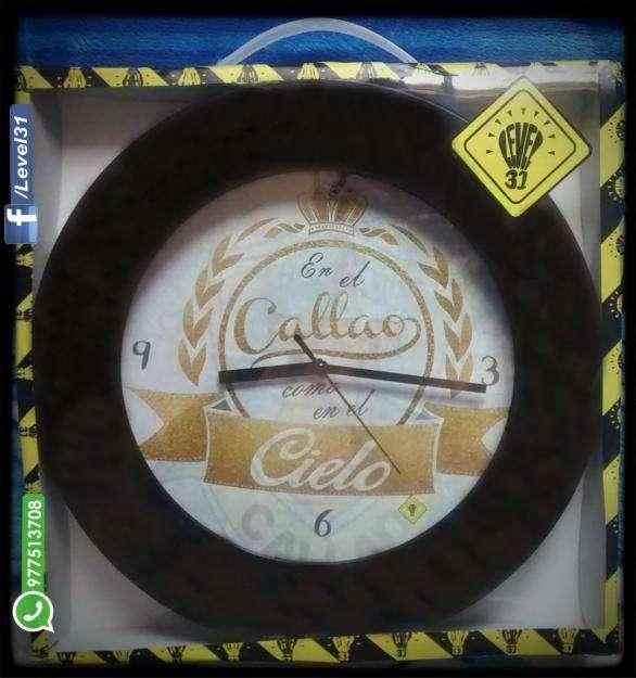 Reloj de Pared Callao EXCLUSIVO!