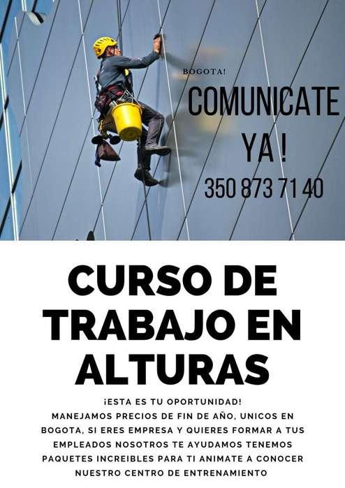 CURSO DE TRABAJO EN ALTURAS -CERTIFICADO CON NOSOTROS