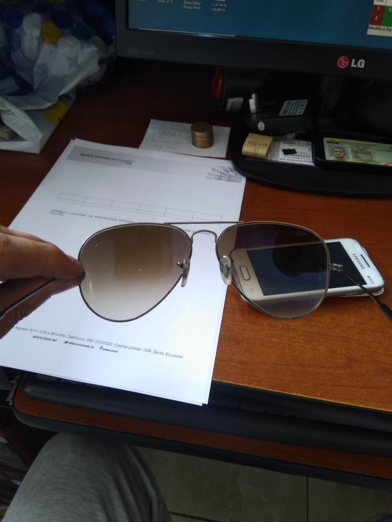 469c16c034 Gafas Rayban Aviador Usadas - Quito