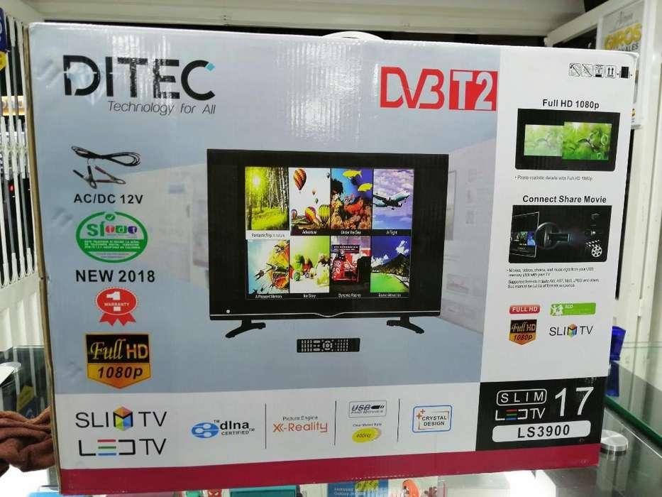 Tv 17'' Full Hd con Tdt