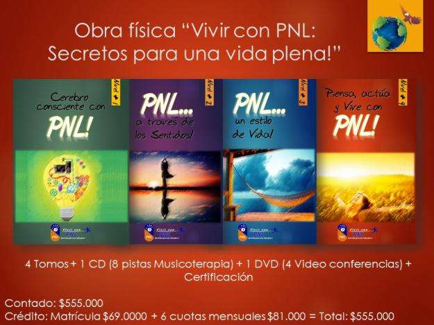 Obra: Vivir con PNL: Secretos para una Vida Plena 4 Tomos 1CD 1DVD