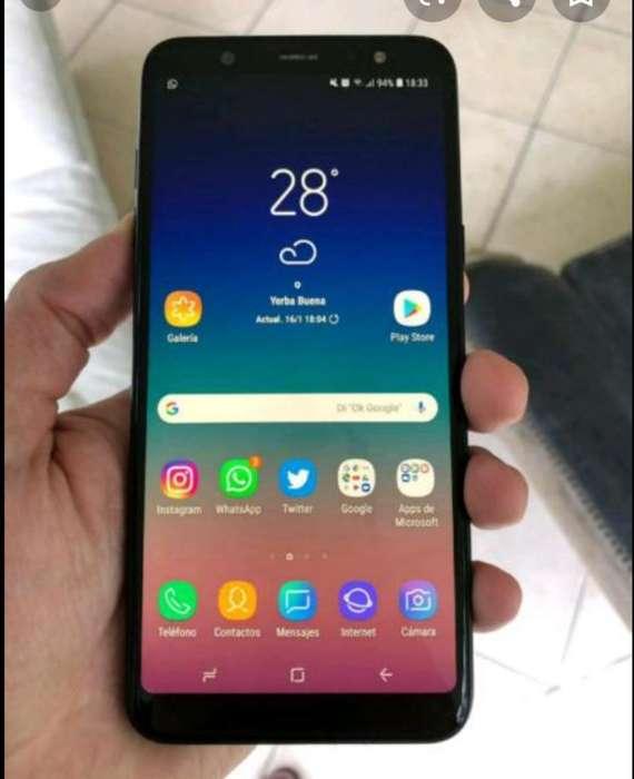 Samsung A6 Plus de Huella Leer Bien