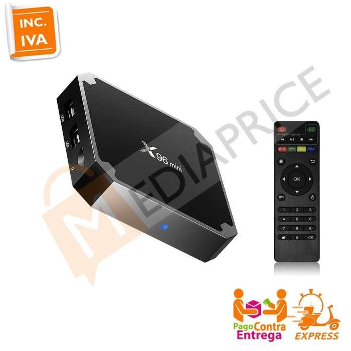 Convertidor Smart TV Box X96 Mini 64Bits Android 7.1 1GB/8GB