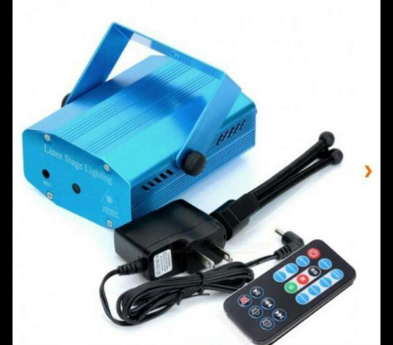 Mini Laser Led con Control Remoto