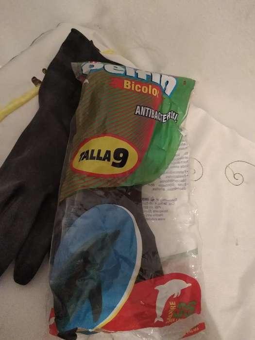 Se Vende Guantes Negros Calibre 35