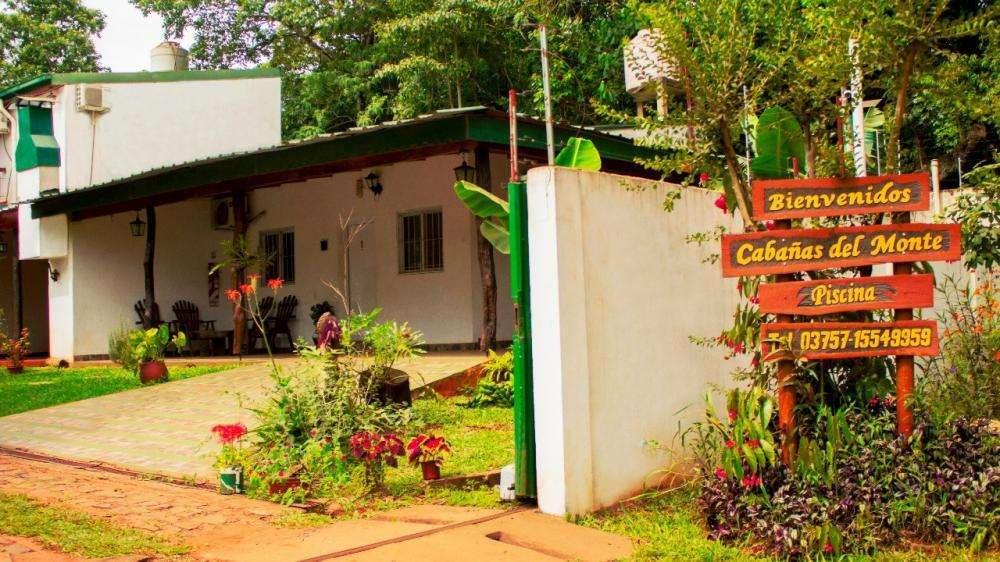 gc69 - Cabaña para 1 a 6 personas con pileta y cochera en Puerto Iguazú