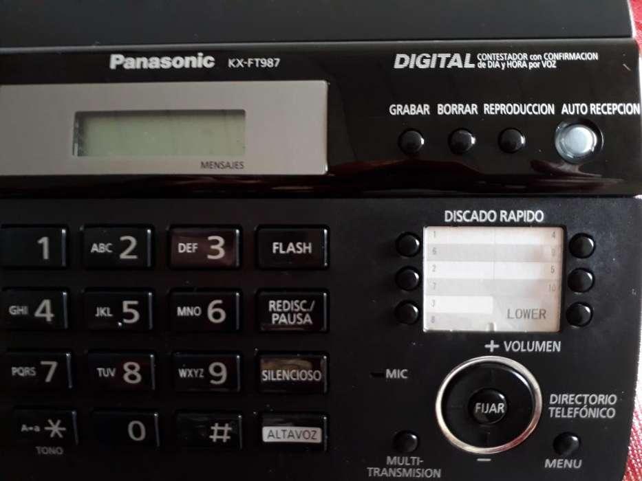 <strong>fax</strong> Panasonic VENDO O CAMBIO