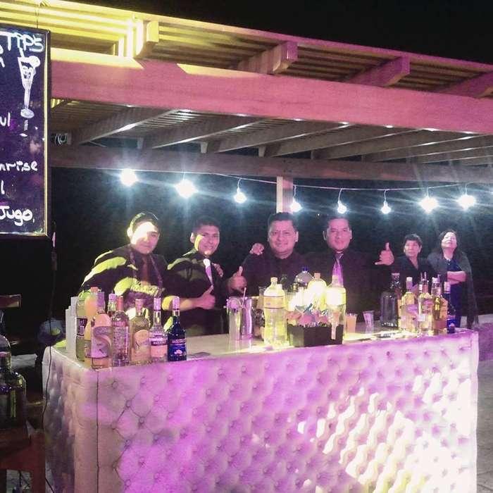 Barman Barra Movil Salitas Lounge