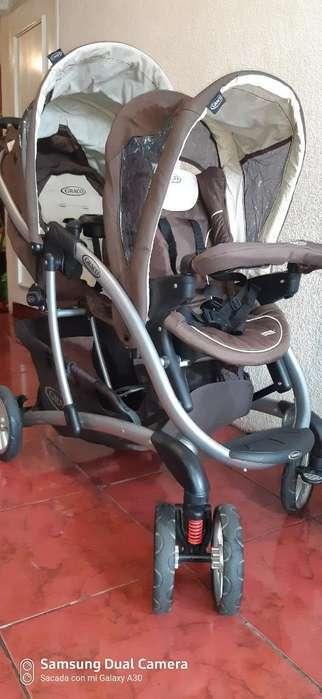 <strong>coche</strong> de Bebé Doble Europeo para Gemelos