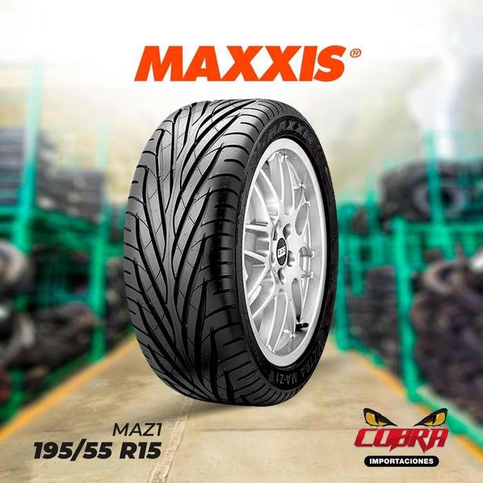 <strong>llantas</strong> 195/55 R15 MAXXIS MAZ1