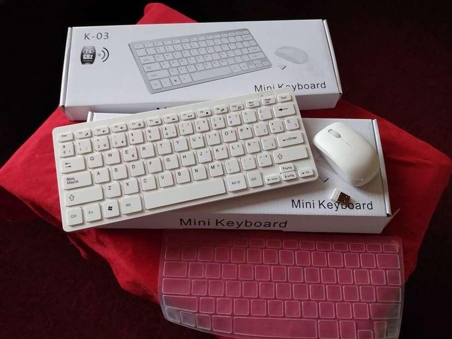 combo de teclado y mouse inalambricos nuevos