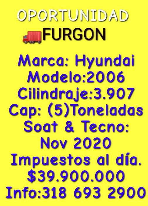Furgon Hyundai