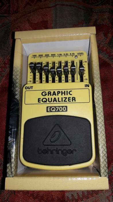 Pedal Ecualizador Eq700