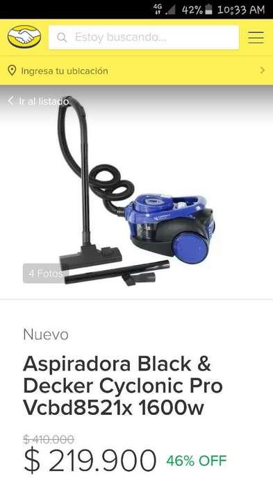 <strong>aspiradora</strong> Black Decker 1600 W