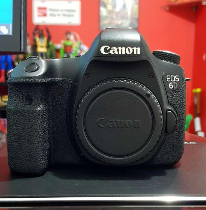 Camara Canon 6d Solo Cuerpo