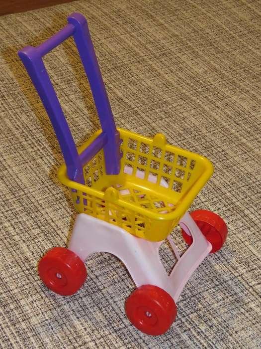 Set de rodados para niños, andador, carrito con cesta.