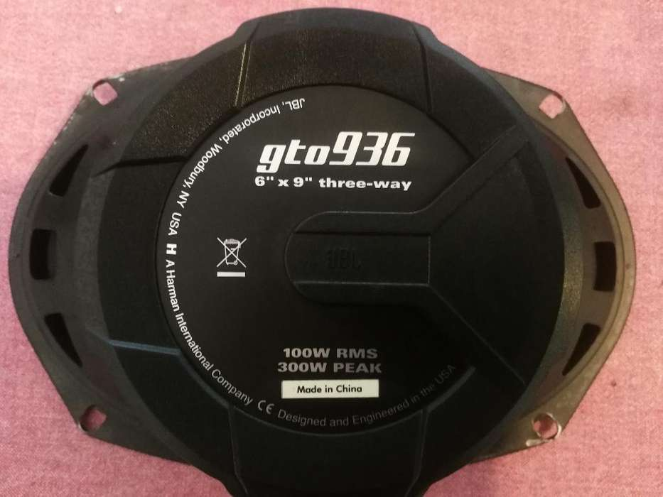 Jbl Grand Touring Series Gto936 - Speake