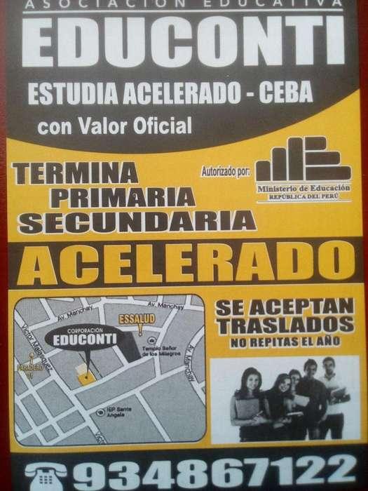 Ceba , Colegio No Escolarizado