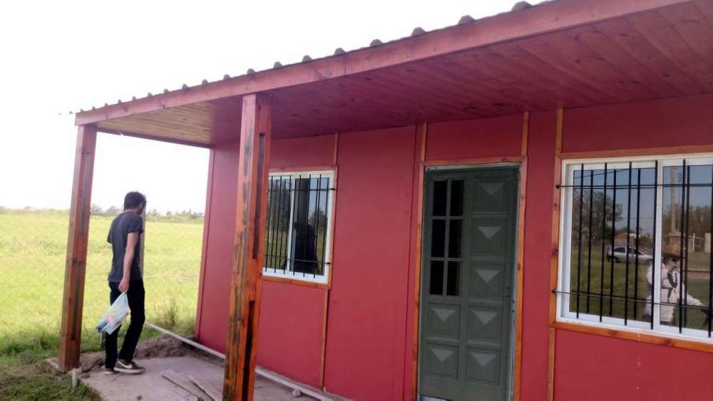 Vendo Excelente Lote Terreno Andino y Casa Prefabricada